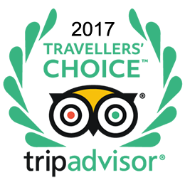 Tripadvisor - excellence certificate 2017