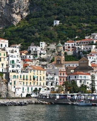 Shore Trip along Full Amalfi Coast from port of Salerno